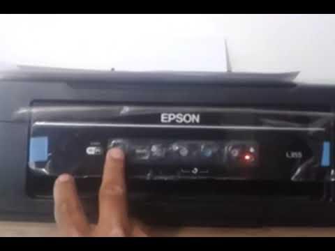How to printer Epson L355 Parpadea