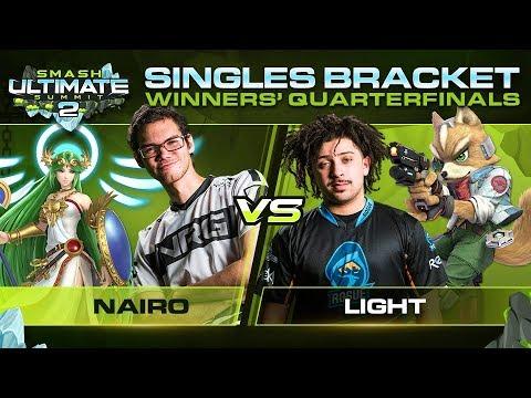 Download Nairo vs Light - Singles: Winners Quarterfinal - Ultimate Summit 2 | Palutena vs Fox