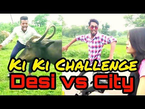 KiKi Do You Love me Challenge vs Rasgulla Challenge Desi  | Comedy video