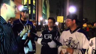 Anaheim Ducks vs Los Angeles Kings Freeway Faceoff February 2013 Part 2