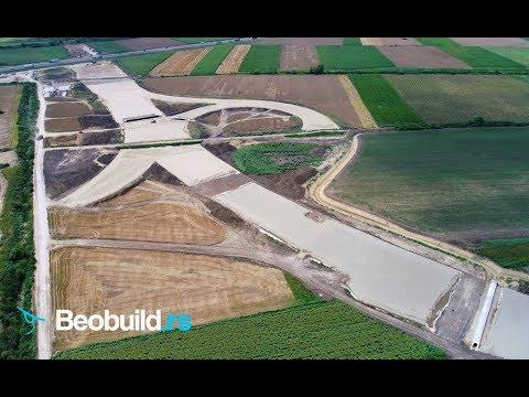 Izgradnja Tri Petlje Na Obilaznici Oko Beograda Jul 2018 4k Uhd