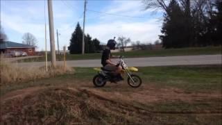The Killer 65cc Suzuki dirt bike