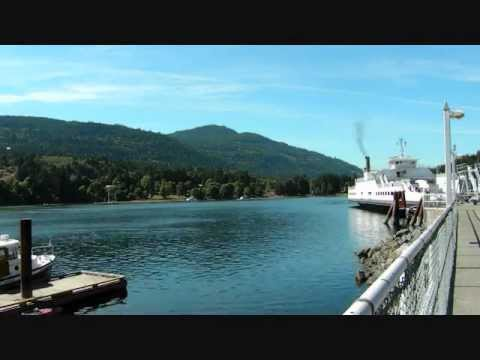 Time Lapse Salt Spring Island  Ferry  Fulford Harbour - Swartz Bay Vancouver Island