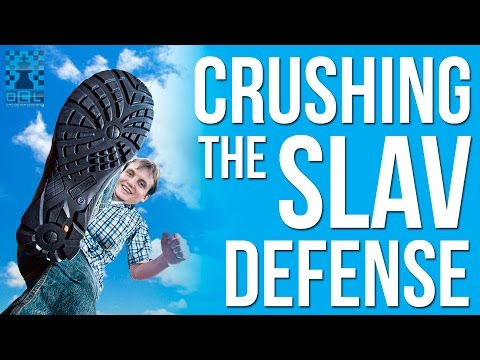 Crushing the Slav Defense with the 7. g4!? Gambit - GM Timur Gareev (EMPIRE CHESS)