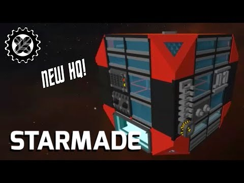 Cube Base Project! | STARMADE (JMI Corporate Outpost build)