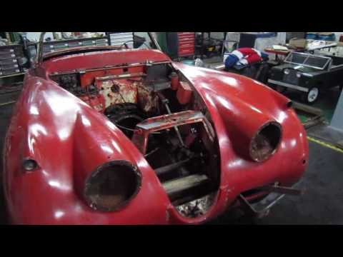 jaguar XK 150 OTS restoration part 1