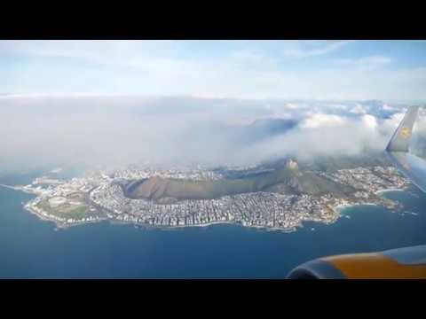 Amazing View: Take Off in Cape Town | Atemberaubende Sicht aus der Luft: Abflug in Kapstadt
