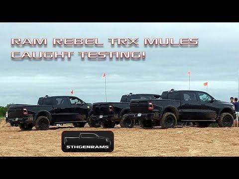 Ram Rebel TRX Caught Testing On The Sand Dunes!