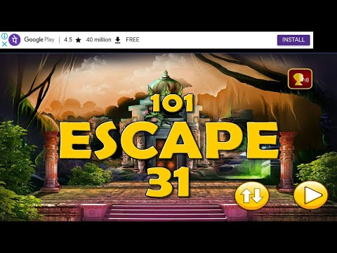 501 escape games (ancient temple escape 2)level 31 full walkthrough