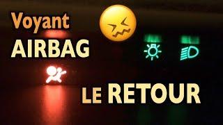 Voyant Airbag ⚠️ de nouveau allumé ! 😖  Twingo
