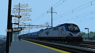 TS2016 - Railfanning the NEC, NJCL, and New Haven Line