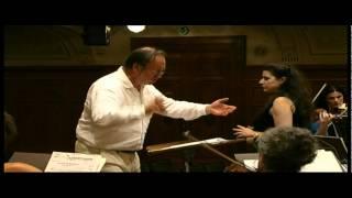 Haydn arias in Rehearsal
