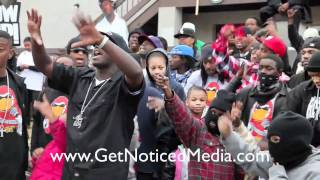 "Get Noticed Media | Alley Boy ""Throw It Up"" Behind The Scenes"