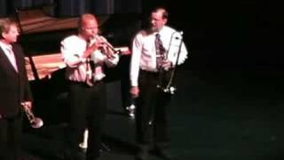 """Dinah"" Duke Heitger, trumpet, and Ray Heitger, clarinet, join the ..."