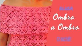 Blusa  Ombro a Ombro ♥  Parte 2 ♥  Cavas e busto