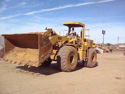 CAT 966F Wheel Loader Stock Number L67