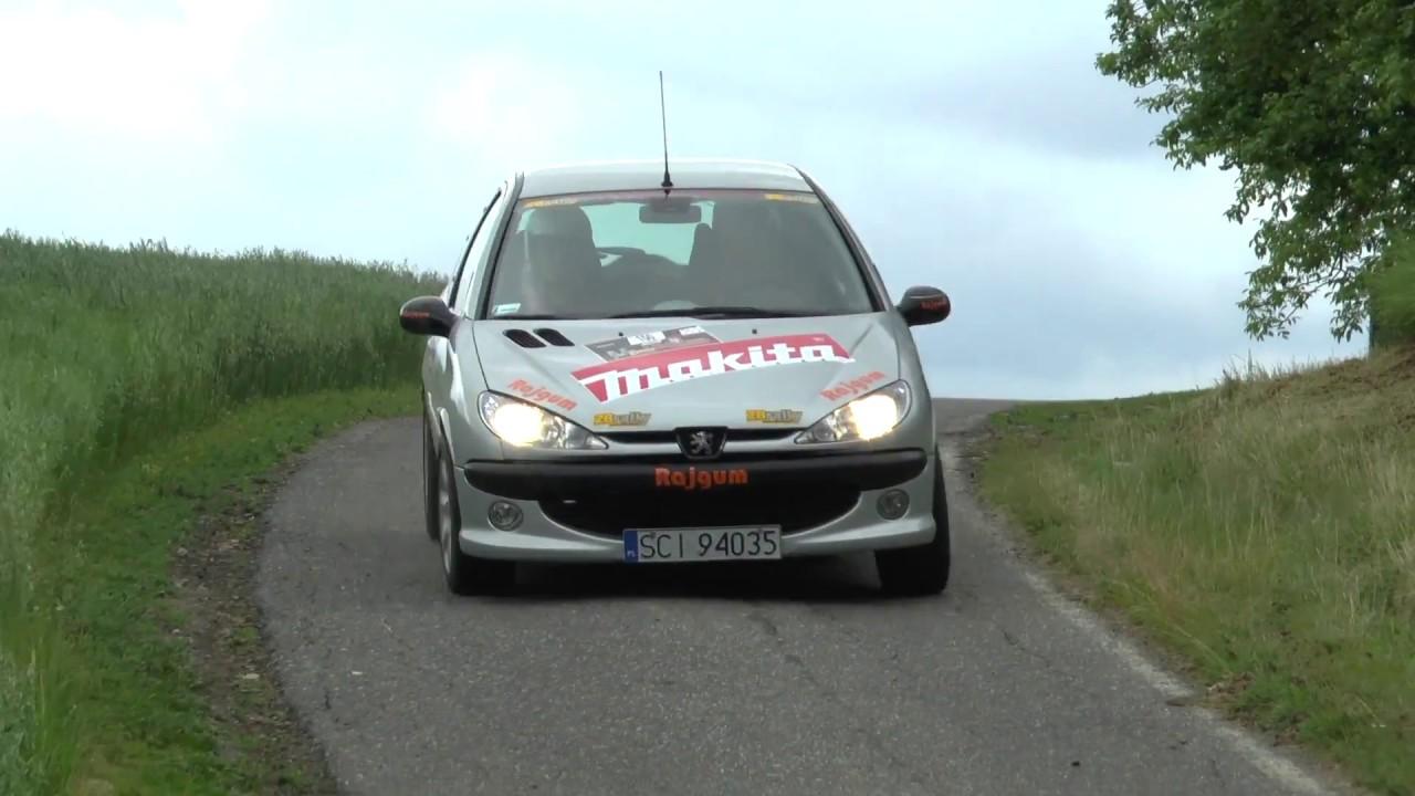 KJS Pawłowice 2017 – Adam Bujok / Krzysztof Szturc – Peugeot 206