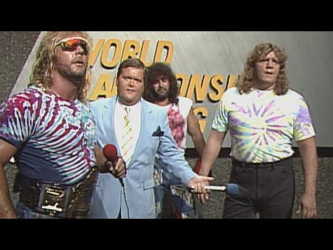 Fabulous Freebirds vs Midnight Express -Tag Title Match: NWA World Championship Wrestling, June 1989