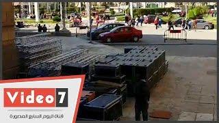 بالفيديو.. جامعة القاهرة تنهى ترتيباتها لاستقبال حفل الكينج