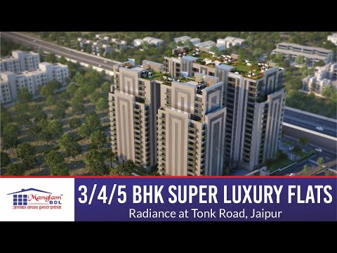 Radiance - 3/4/5 BHK Super Luxury Flats at Tonk Road, Jaipur