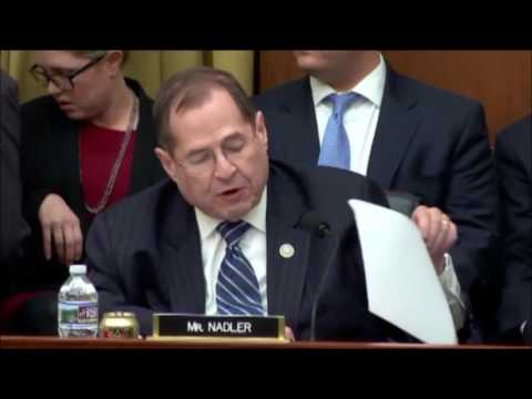 video from the House Judiciary Committee markup of my #ResolutionofInquiry from February 28, 2017
