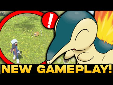 POKEMON NEWS! NEW Legends Arceus Gameplay Clips & Information! Pokemon Evolutions and More!