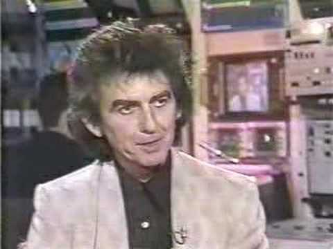 "George Harrison on ""MuchMusic"""