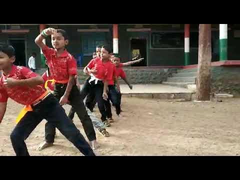 Karunade song dance performance.  SMHPS MULAWAD