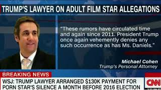 WSJ: Cohen paid porn star through private LLC created just weeks before election.
