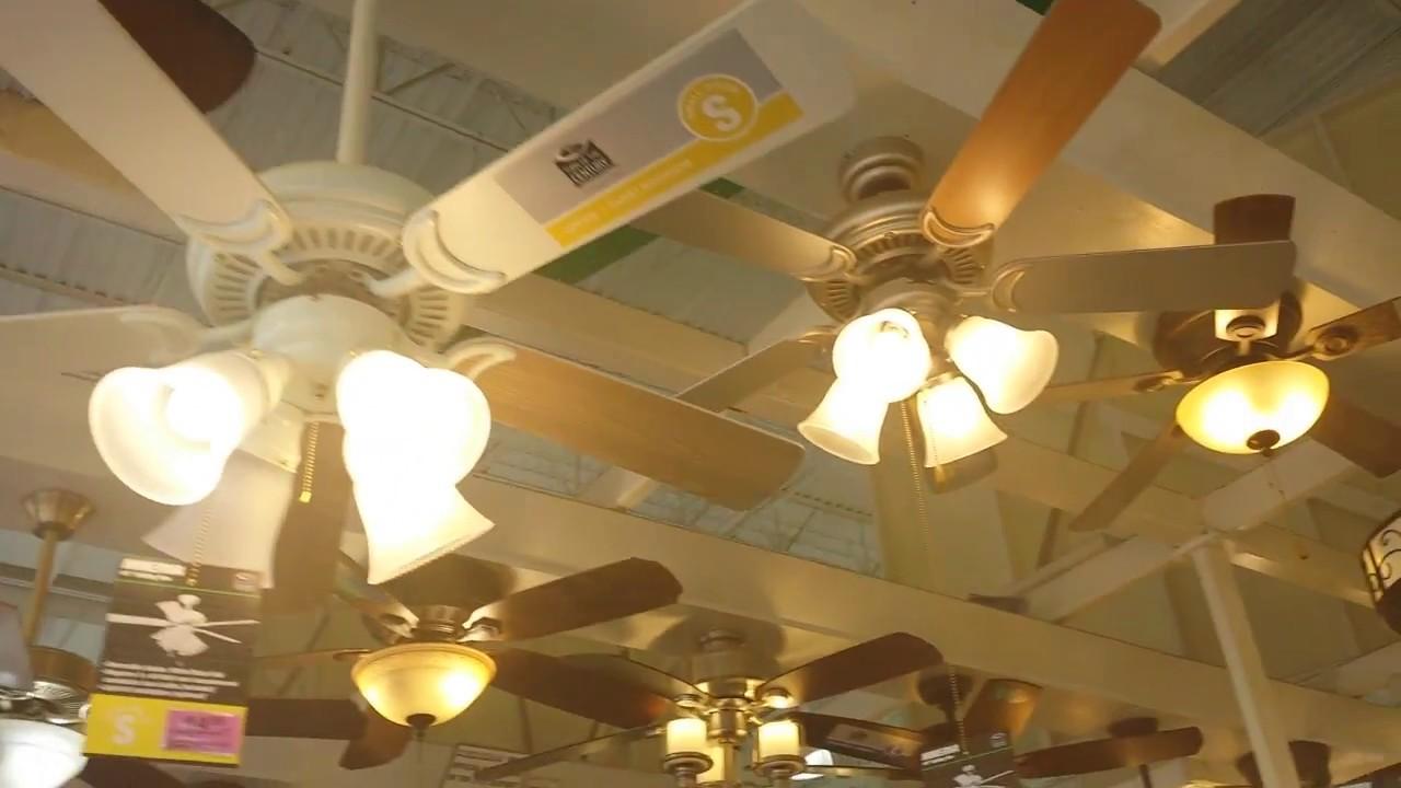 Menards Ceiling Fan Department Tour Summer 2017