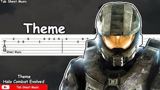 Halo - Theme Guitar Tutorial