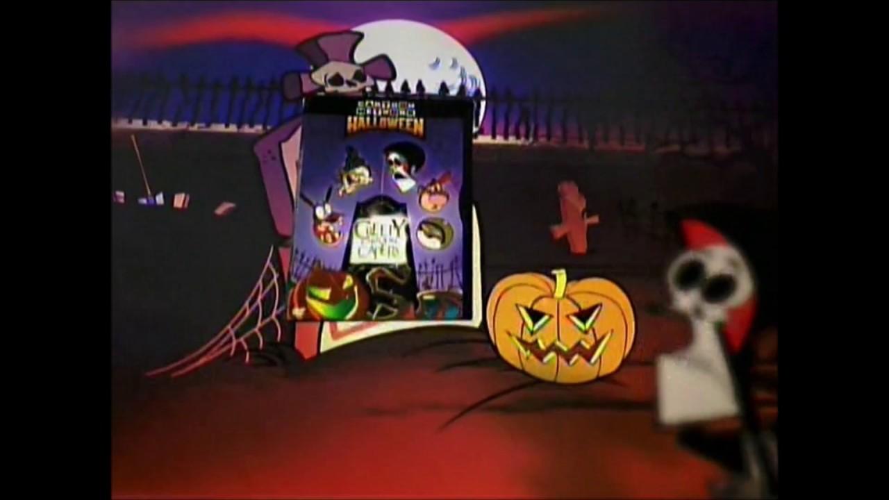 Cartoon Network Halloween Dvd Promo 2004 Youtube