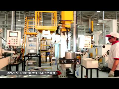 Havells Water Heaters Manufacturing Plant Video 2015