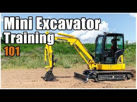 How To Operate A Mini-Excavator | Mini Excavator Controls
