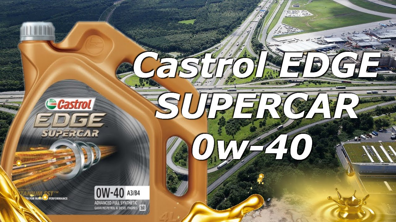 💪😍Nuevo [SUPERCAR]💪😍 - Aceite Motor Castrol Edge SuperCar 0w40