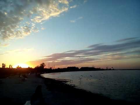 Бердянск последний вечер на заливе