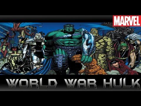 มหาสงครามHulkปะทะเหล่าฮีโร่!![World War Hulk]comic world daily