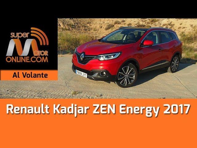 Renault Kadjar 2017 / Al volante / Prueba dinámica / Review / Supermotoronline.com