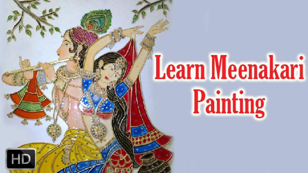 Learn meenakari painting how to paint meenakari painting for How to learn to paint