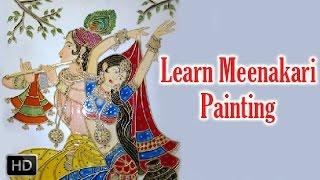 Learn Meenakari Painting - How to Paint Meenakari Painting - Acrylic Painting Lessons