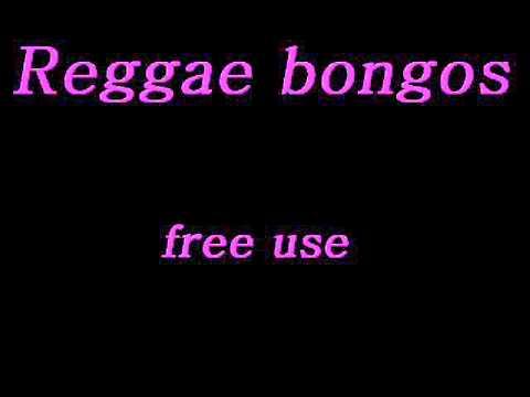 Reggae Bongos Loop Beat 130 BPM Track Instrumental