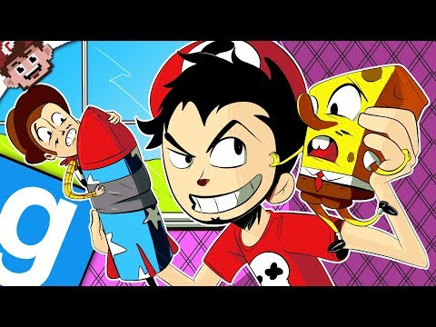 REVENGE of our CHILDHOOD! | Spongebob & Toy Story Survival! (Garry's Mod: DeathRun)