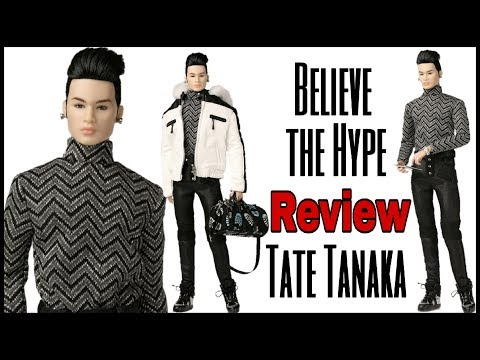 Believe the Hype - Tate Tanaka- The Industry Collection by Integrity Toys - Doll Review