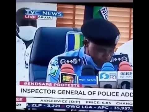 IGP Mohammed Adamu dissolves SARS