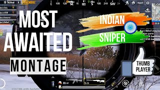 THIS GAMEPLAY WILL MAKE YOU SUBSCRIBE | BEST SNIPER MONTAGE PUBGM | PART 2