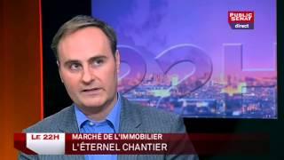 Le 22h (28/01/14) - Invités : Laurent Vimont, Claude Dilain, Julien Damon, Jean-Louis Gombeaud