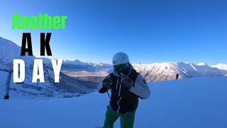 Night At Alyeska Ski Resort |Groomer Dayz| AK