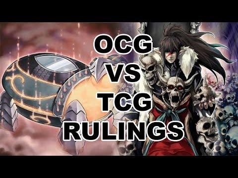 Yu-Gi-Oh! OCG VS TCG Rulings!