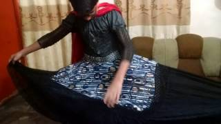 Girl After Wearing Her New DRESS