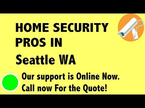 Best Home Security System Companies in Seattle WA